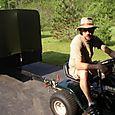 Alex and His Mini-tractor