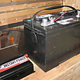 Battery Set-up for Solar Panels